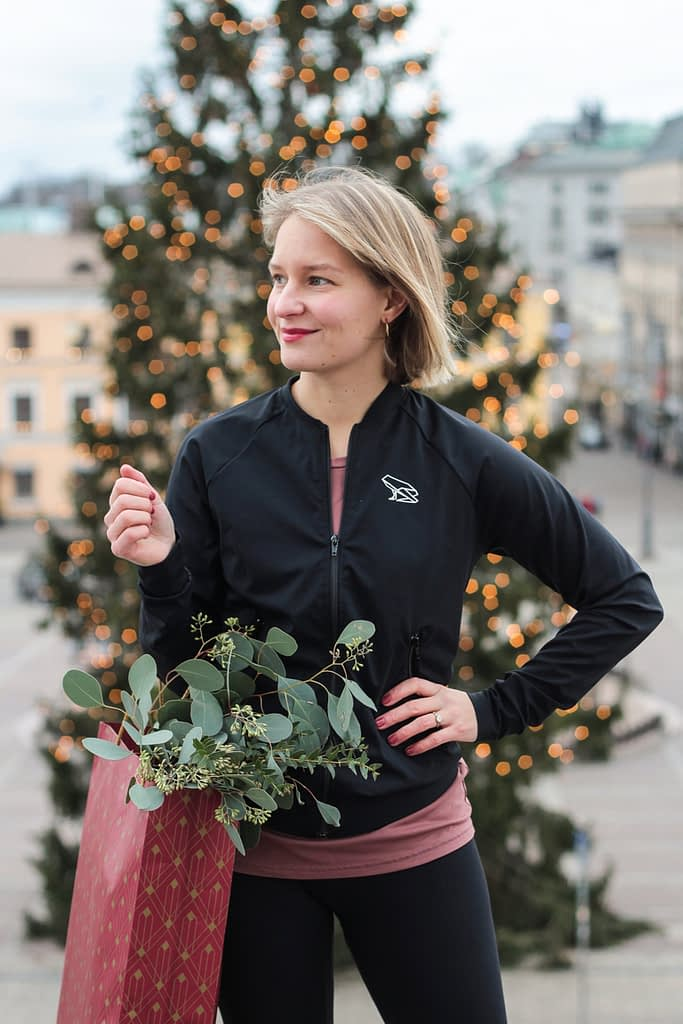 Népran ekologiset treenivaatteet ovat ihana lahja jouluksi.