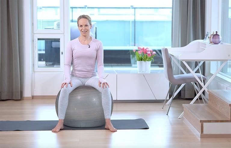 Tässä blogissa saat tietoa lantionpohjan lihasten treenaamisen tärkeydestä. Lue Riina Laaksosen vinkit!