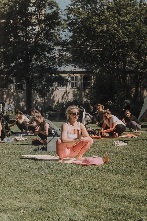 Äitipiirin puistotapahtumat kokosivat äidit yhteen.
